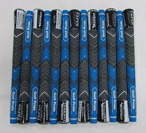 13 Golf Pride MCC PLUS 4 Standard Blue Grips - 18066