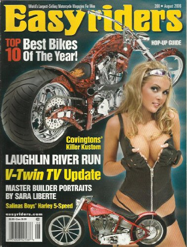 EASYRIDERS MAGAZINE AUGUST 2006 TOP 10 BEST BIKES OF THE YEAR LAUGHLIN RIVER RUN V-TWIN TV UPDATE!