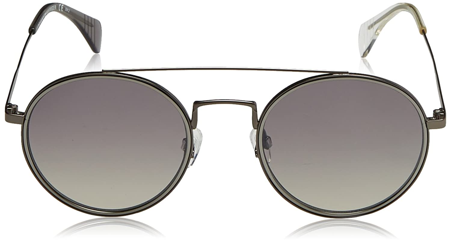 Unisex-Adults TH 1455/S IC Sunglasses, Smtt Dkruthe, 53 Tommy Hilfiger