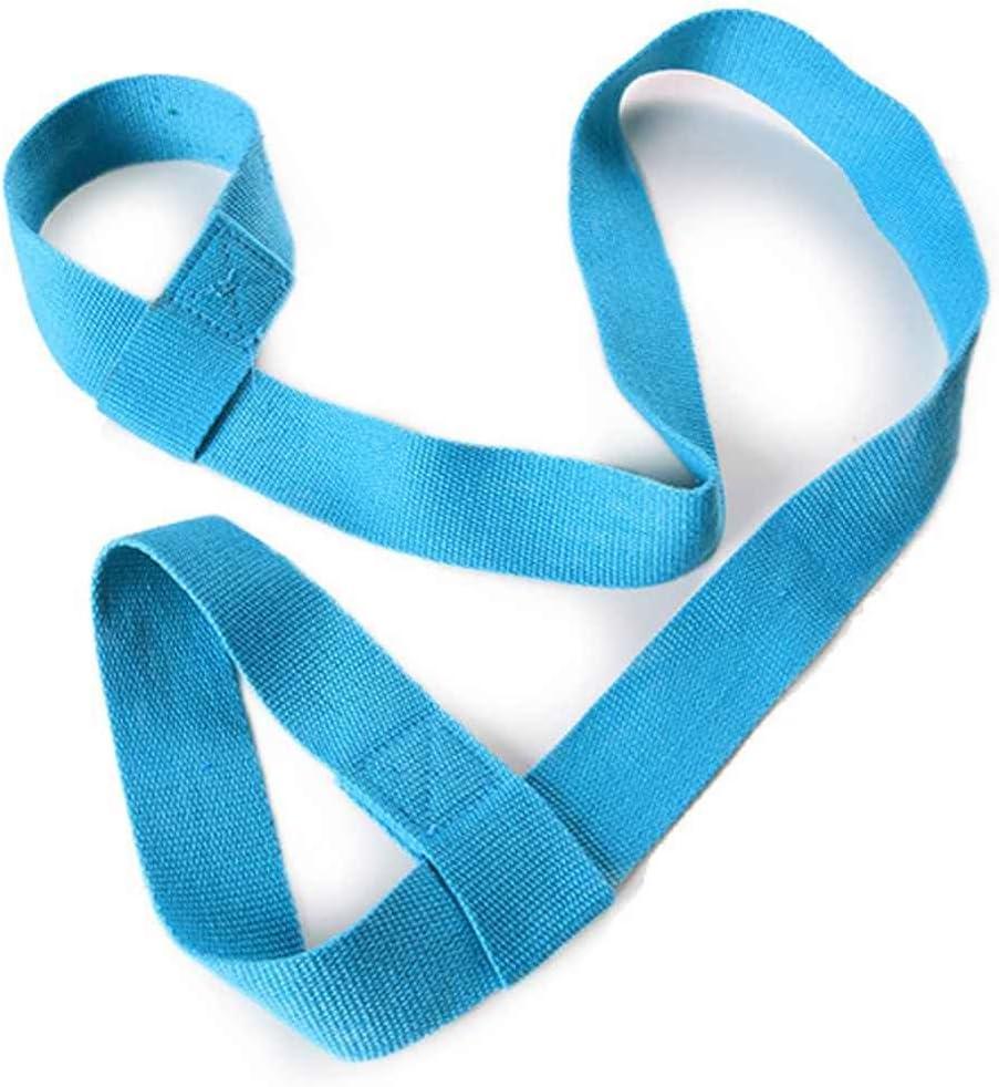 Masterein Adjustable Yoga Mat Cotton Sling Carry Strap Shoulder Belt for All Yoga Mat Size