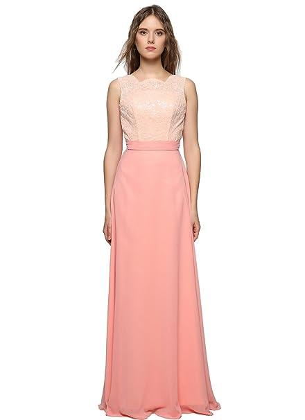 uk availability bef91 69f1c GEORGE BRIDE rosa da sera lunghi abiti da ballo vestito da ...