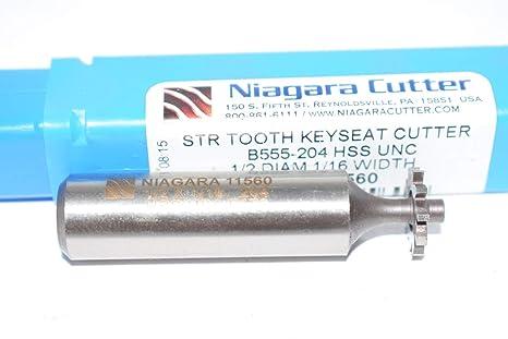 """3//8/"""" dia X 3//32/"""" width 1 PC # 303 Woodruff Keyway Key Seat Cutter"""