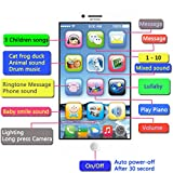 Cooplay Toddler Phone Toy Learning English Music