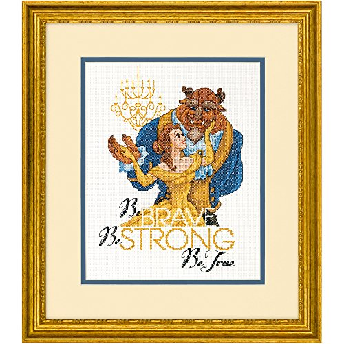 Disney Cross Stitch - Dimensions Needlecrafts Disney Be Brave Counted Cross Stitch Kit