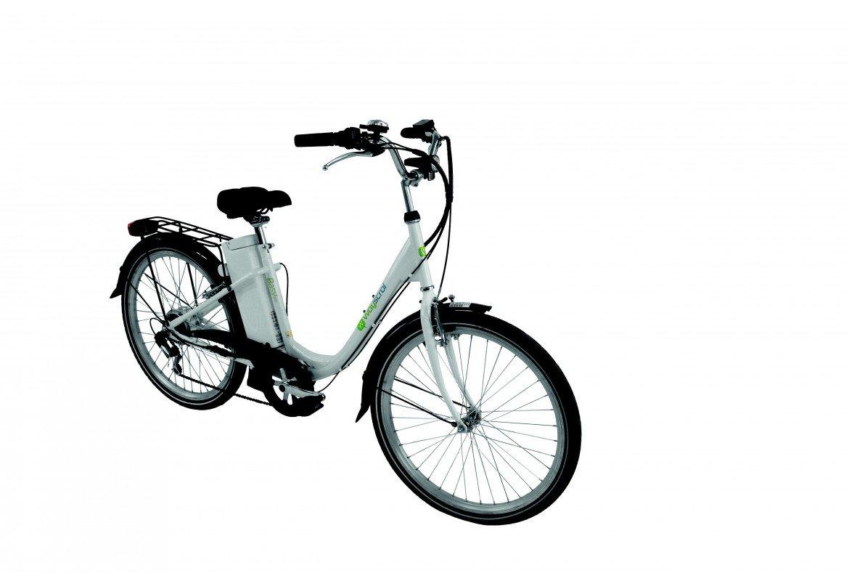 Elektro-Fahrrad Wayscral Basy 315, 24 V, damen, weiß: Amazon.de ...