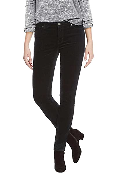 633b9f96b8f BUFFALO David Bitton Women's Faux Velvet Skinny Pant with Stretch at ...