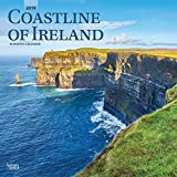 Coastline of Ireland 2019 12 x 12 Inch Monthly Square Wall Calendar, Travel Nature Ocean Cliffs Celtic (English, French and Spanish Edition)