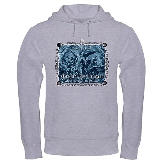 740c12dee Amazon.com  CafePress St. Michael Hooded Sweatshirt Sweatshirt White ...