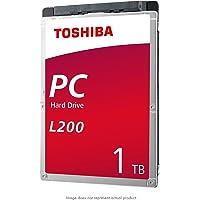 Toshiba HDWL110XZSTA L200 - Disco Duro Interno para computadora portátil (1 TB, 5400 RPM, SATA, 6 GB/s, 128 MB de caché, 7 mm de Altura)