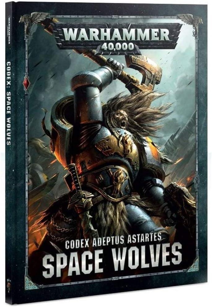 Citadel Codex Space Wolves Warhammer 40,000 (8th Ed.) (HB): Amazon.es: Juguetes y juegos