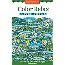 Color Relax Coloring Book Perfectly Portable Pages On The Go
