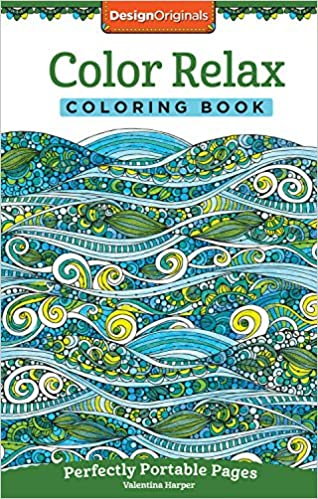 Color Relax Coloring Book: Perfectly Portable Pages ...