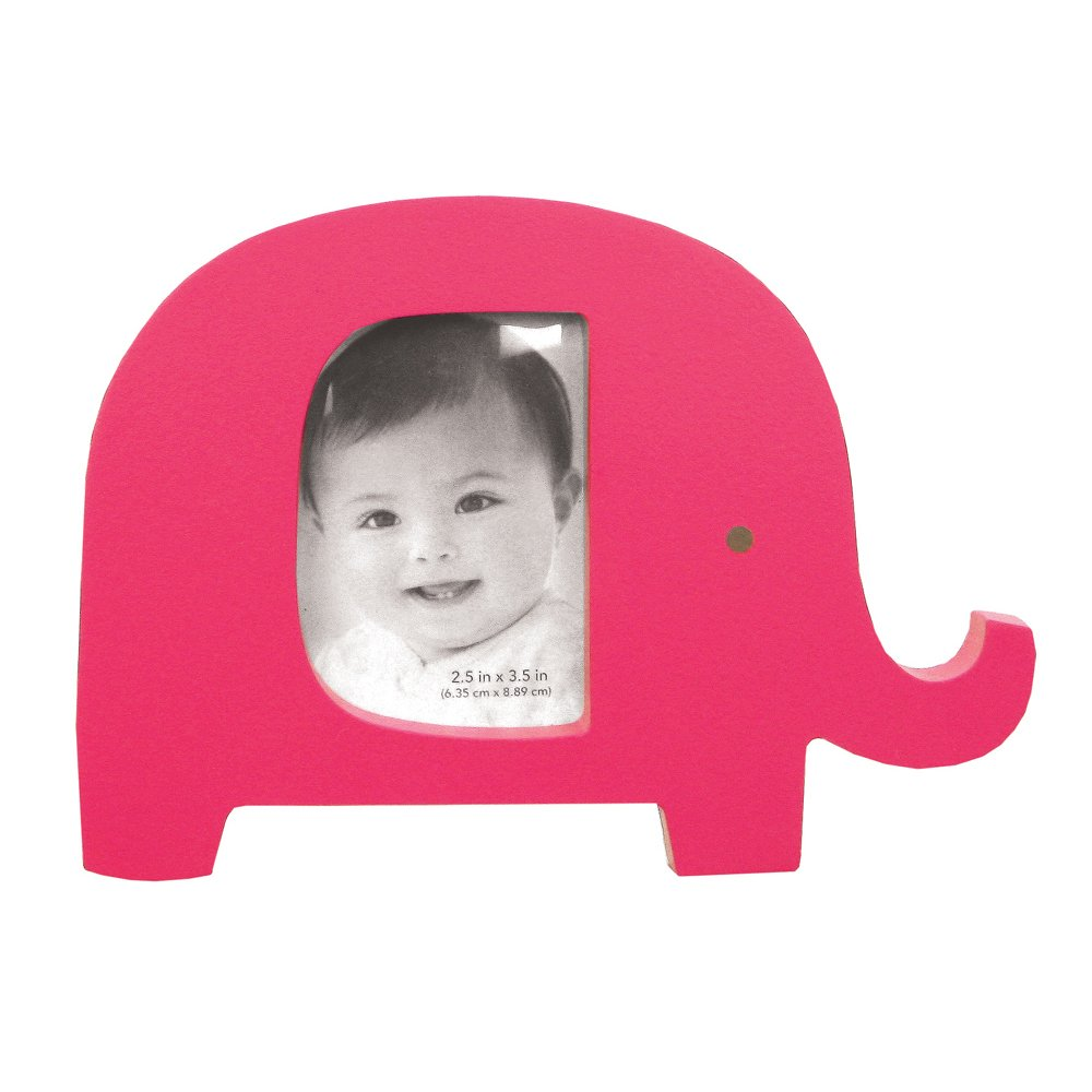 amazoncom carters animal frame pink elephant discontinued by manufacturer nursery picture frames baby - Elephant Picture Frame
