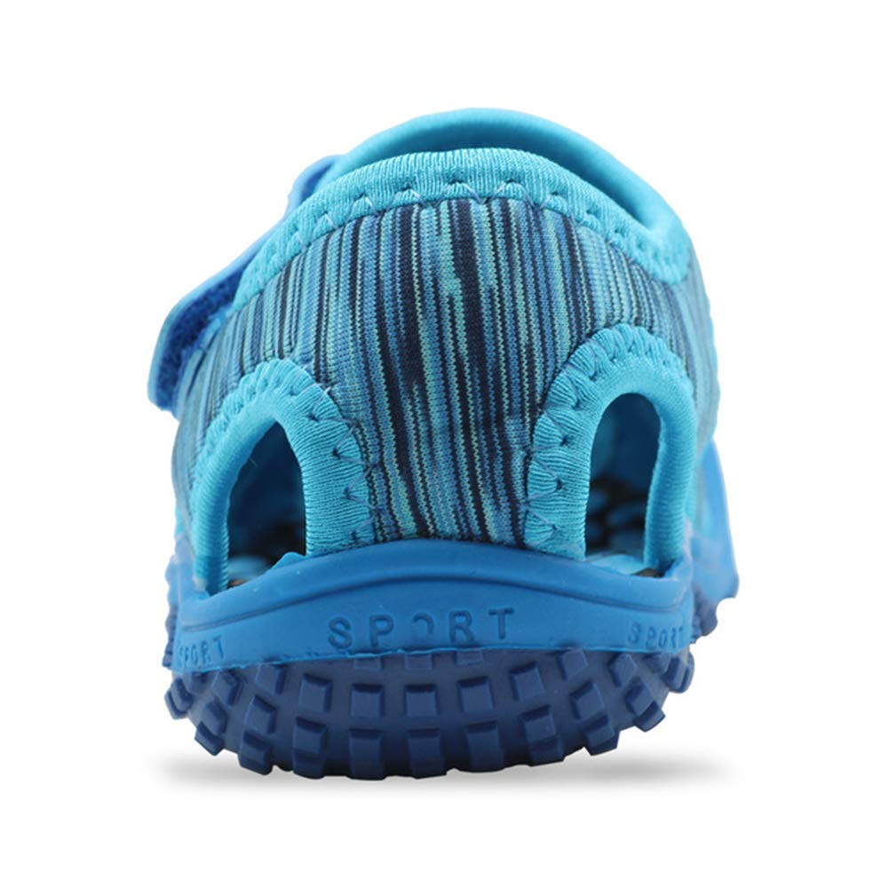 Mubeuo Leather Athletic Sport Outdoor Kids Sandals for Girls