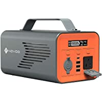 NOVOO 230Wh 62400mAh Lithium Battery Solar Portable Power Station