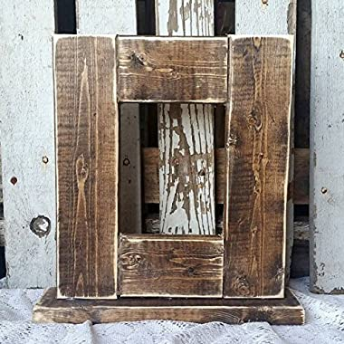 Wooden handmade picture frame
