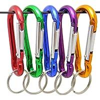 ZENDY Spring-Lock Aluminio en Forma de Calabaza en