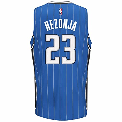d5024bcba Mario Hezonja Orlando Magic NBA Adidas Blue Official Climacool Away Road Swingman  Jersey For Men (
