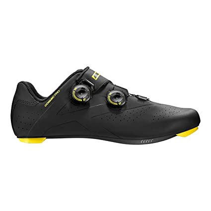 Mavic Cosmic Pro Cycling Shoes - Men's Black/Mavic Yellow 7