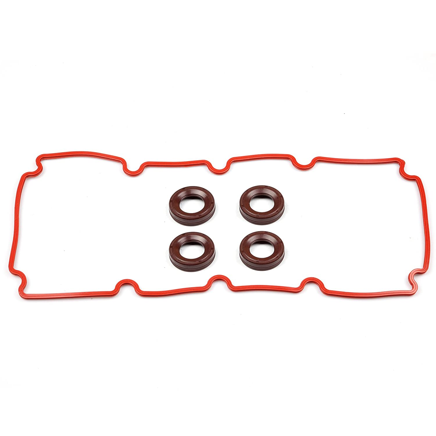 ECCPP For 2000-2005 Dodge Neon Chrysler Cirrus 2.0L Cylinder Valve Cover Gasket Set 110264-5211-1412331
