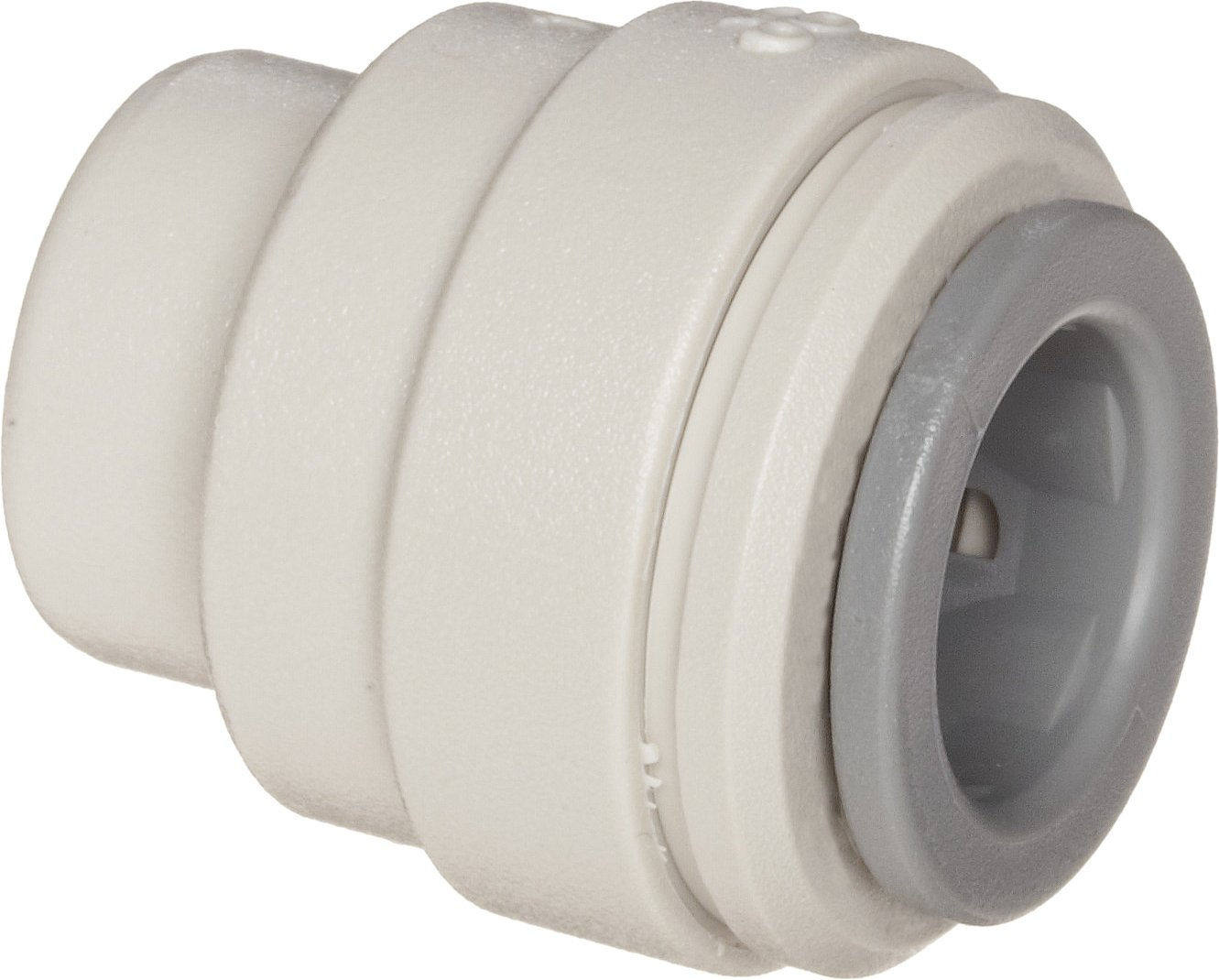 John Guest Acetal Copolymer Tube Fitting, End Stop, 3/8'' Tube OD (Pack of 10) by John Guest