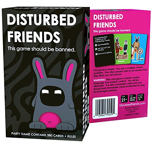 Disturbed Friends - This game should be banned, best board games for adults, best board games for adults