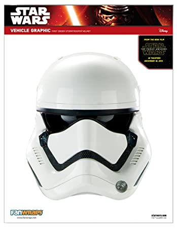 Nice Star Wars Episode VII First Order Stormtrooper Helmet Decal