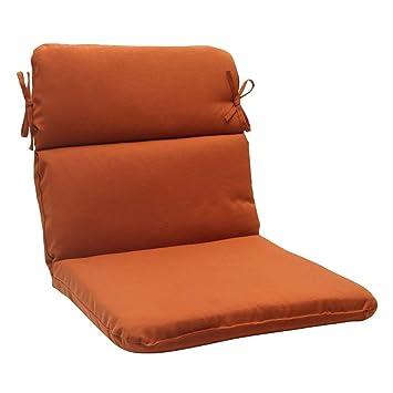 Amazon Com 40 5 Cinnamon Burnt Orange Outdoor Patio Round Wicker