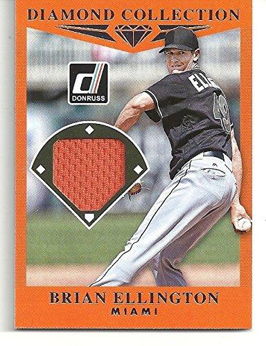 Brian Ellington Diamond Collections Game Used Memorabilia Baseball