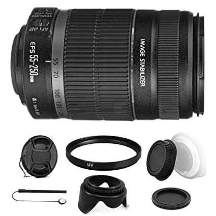 Amazon com : Canon EF-S 55-250mm f/4-5 6 is II Lens for EOS 7D Mark