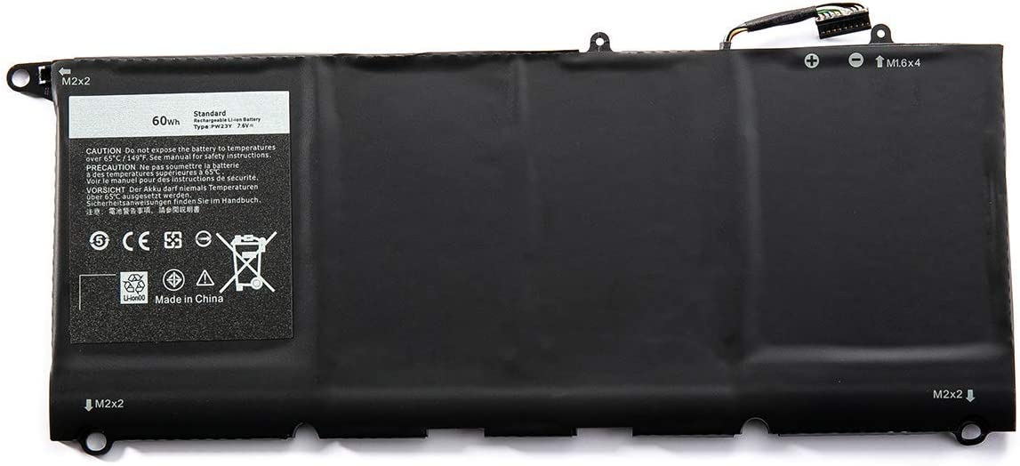 Binger New PW23Y Replacement Laptop Battery Compatible With Dell Xps 13 9360 XPS 13-9360-D1605G 0RNP72 TP1GT 0TP1GT