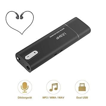 Unterhaltungselektronik Mini 8 Gb Digital Voice Recorder Unterstützung Speicher Karte Usb-stick Mp3 Noise Reduktion Professionelle Hd Audio Recorder Ohne RüCkgabe