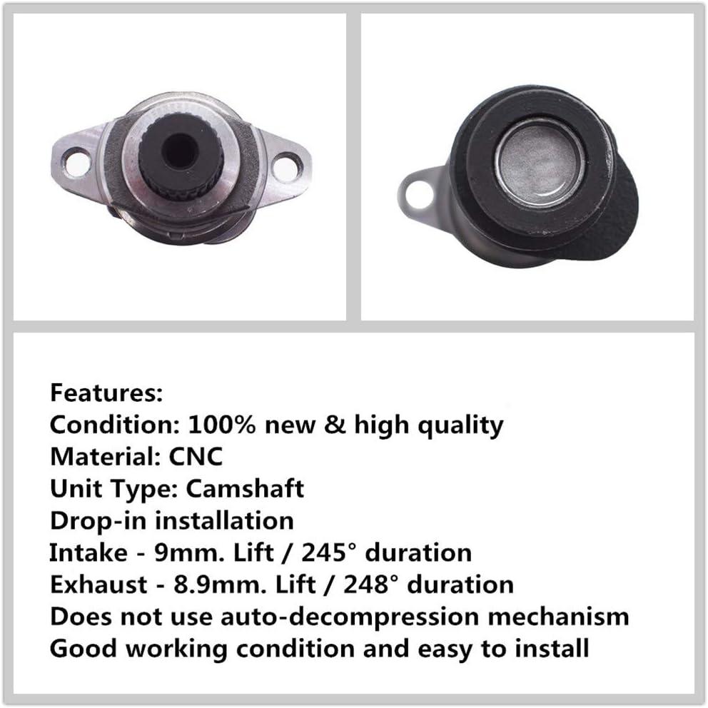 labwork Stage 2 Camshaft Shaft Hot Cam 14000-HN1-000 Fit for Honda Sportrax 400 TRX 400EX 400X 1999-2014 1999-2014 14000-HN1-A70