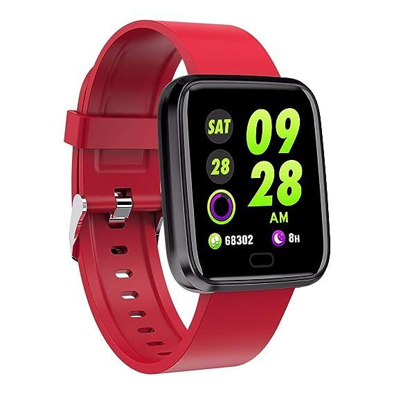 SmartWatch, Reloj Inteligente con Impermeable IP67, Pulsera ...