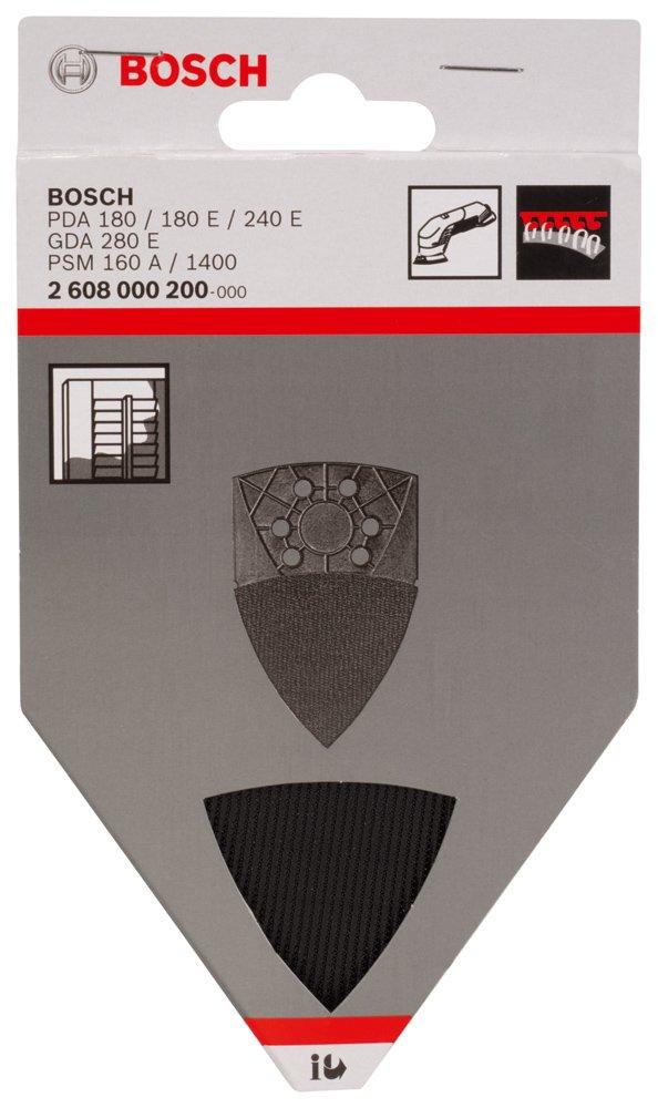 f/ür Dreieckschleifer Bosch Professional Lamellenschleifvorsatz f/ür Dreieckschleifer /& Professional Schleifzunge flach