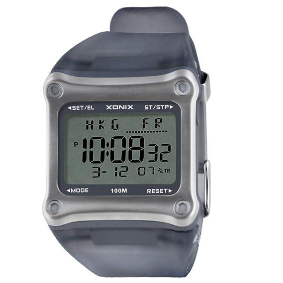 Relojes electrónicos multifuncionales para hombre, natación, buceo y natación luminosos, deportivos