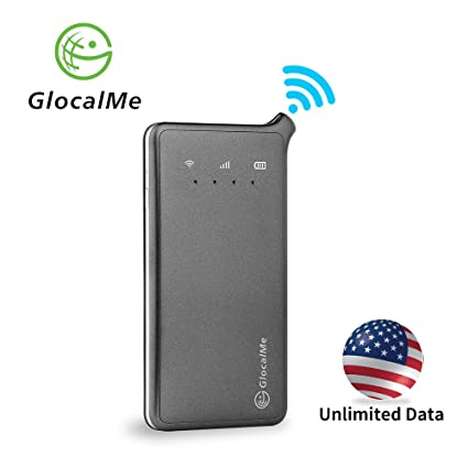 Hotspot Unlimited Data >> Glocalme U2 4g Mobile Hotspot Unlocked Wifi Hotspot With Annual Unlimited Data Plan For Usa No Sim Card Roaming Charges Travel Pocket Wifi Hotspot