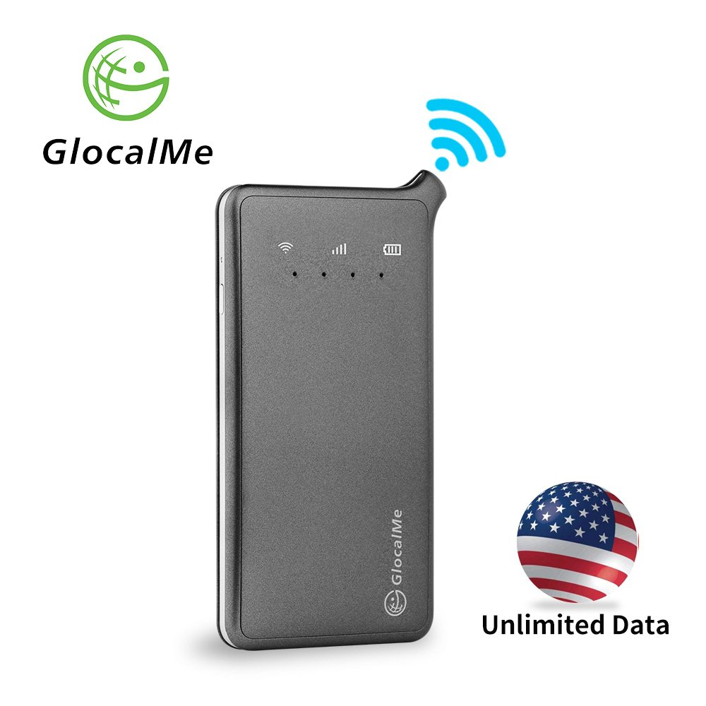 GlocalMe U2 4G Mobile Hotspot - Unlocked WIFI Hotspot with Annual Unlimited Data Plan for USA by Glocalme (Image #1)