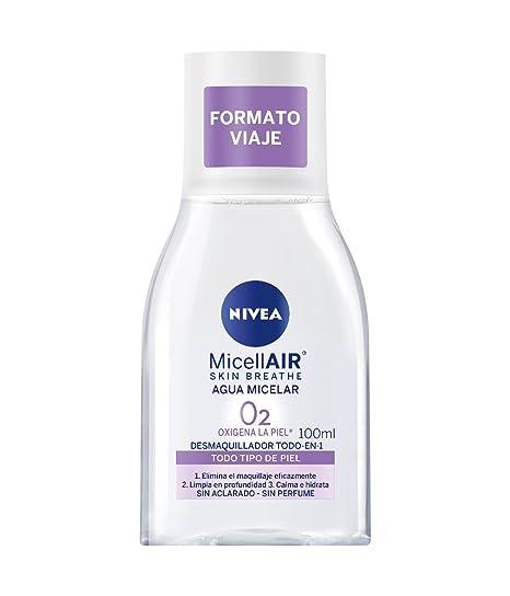 NIVEA Agua Micelar Mini - Paquete de 12 x 100 ml - Total: 1200 ml