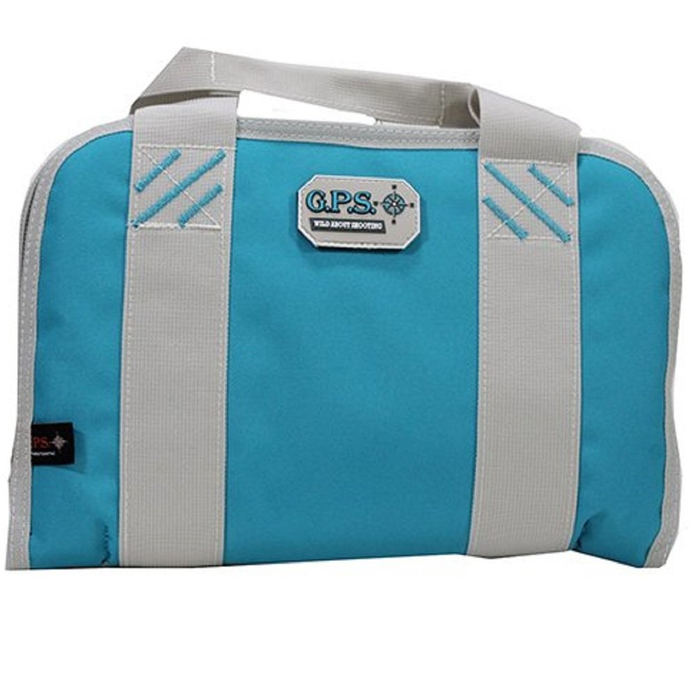 G5 Outdoors G.P.S. Double Pistol Case, Robin Egg Blue, One Size by G5 Outdoors (Image #1)