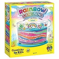 Creativity for Kids Rainbow Sandland - Make Your Own Sand Art for Kids