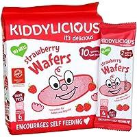 Kiddylicious Maxi Wafer strawberry, 40g