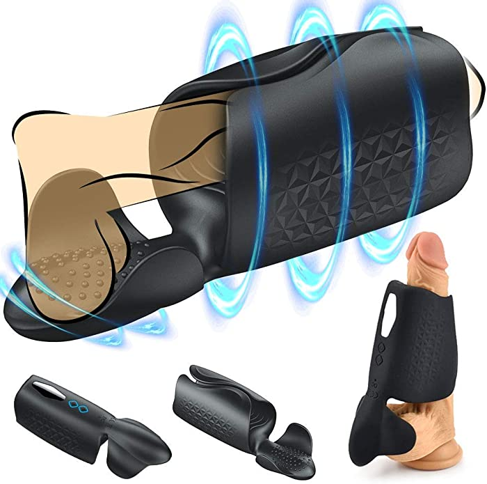 Male Electric Pennis Sucking Toys Male Elecrric Massager with Multi Powerful Modes Suction & Vibration Massage Vacuum Pump Tool,Best Gift for Boyfriend Husband Sexy Underwear Toy for Men ggff