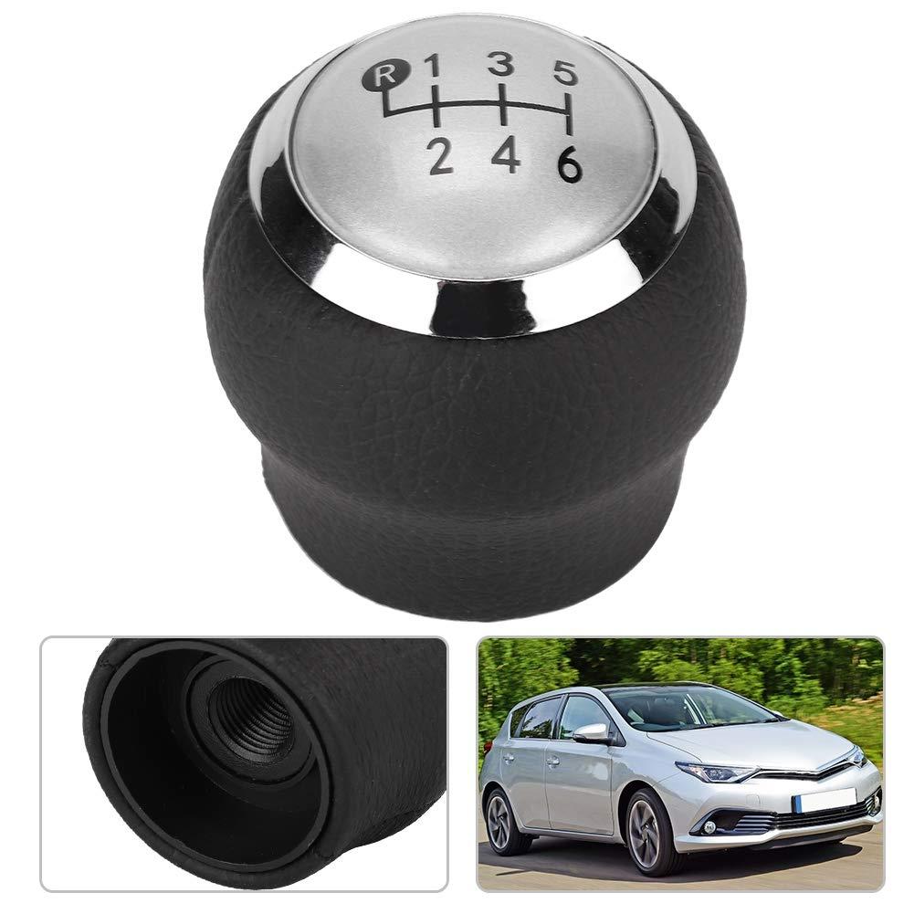 Suuonee Pomo de la palanca de cambios 5 velocidades Modificaci/ón del coche Pomo de la palanca de cambios para Auris NRE15