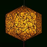 Brownfolds Nest Texture Paper Lantern Brown