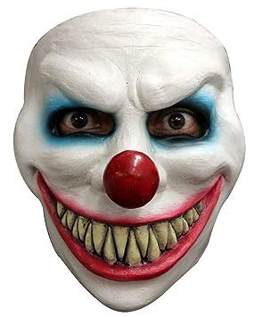 Horror-Shop Máscara de Payaso de la Risa Malvada