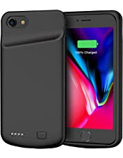 Battery Case for iPhone 7/8, 4500mAh Portable Rechargeable Protective Charging Case Compatible with iPhone 7/8 (4.7 inch) Extended Battery Pack Charger Case (Black)