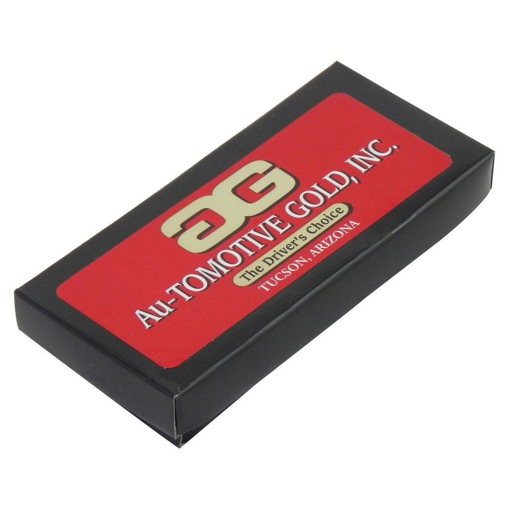 Au-Tomotive Gold INC RAM White Carbon Fiber Texture Leather Key Chain