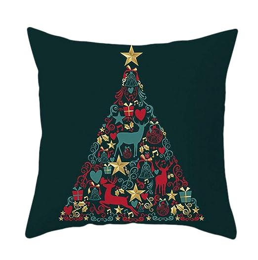 Lihan Navidad Series Funda de Almohada Fundas de cojín ...