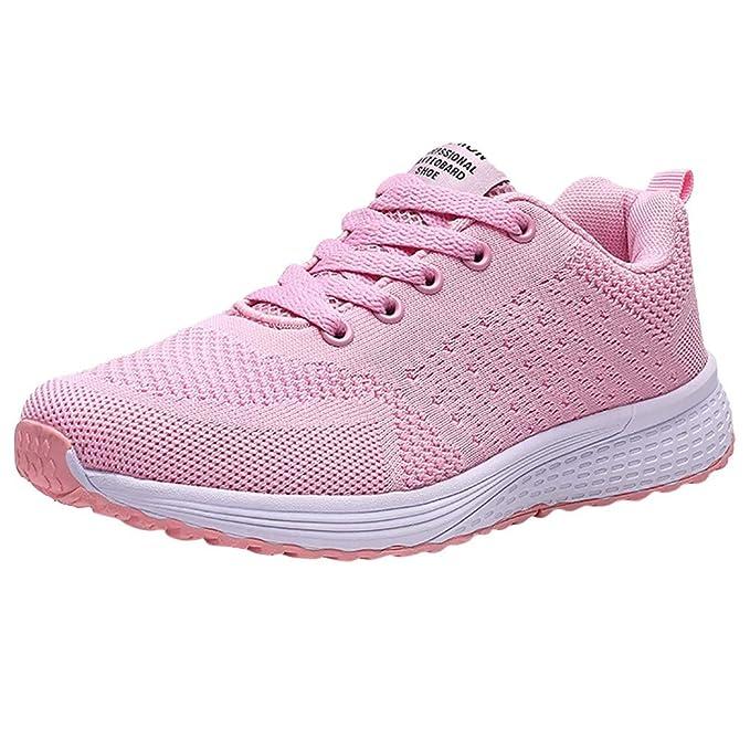 Mymyguoe Damen Laufschuhe Turnschuhe Athletisch Sneaker für
